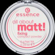 Пудра компактная All about matt! fixing compact powder Essence: фото
