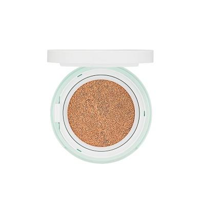 База под макияж лечебная с каламином Holika Holika Puri Pore Pink Powder Cushion 15г: фото