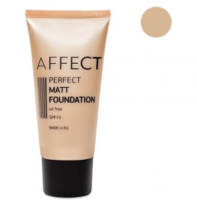 Тональный крем матирующий Perfect Matt Foundation SPF 15 Oil Free Affect F-0001: фото