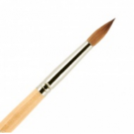 Кисть для ногтей акрил ВАЛЕРИ-Д из волоса колонка №6 круглая: фото