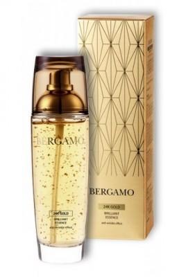 Сыворотка антивозрастная с золотом BERGAMO Gold brillant essence 110 мл: фото