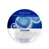 Патчи гидрогелевые для глаз с коллагеном FARMSTAY Collagen Water Full Hydrogel Eye Patch 60шт: фото