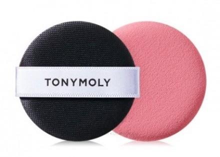 Спонж для нанесения макияжа TONY MOLY Mini pink puff: фото
