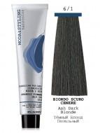 Крем-краска ELGON MODA&STYLING 6/1 Ash Dark Blonde - Тёмный Блонд Пепельный, 125мл: фото