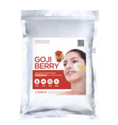 Альгинатная маска с ягодами годжи LINDSAY Premium goji berry modeling mask pack 820 гр.: фото