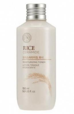 Тонер с рисом и керамидами THE FACE SHOP Rice&ceramide moisturizing toner 150 мл: фото