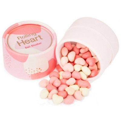 Румяна в шариках MISSHA Rolling Heart Ball Blusher No.2/Peach Beach Ball: фото