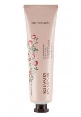 Крем для рук парфюмированный THE FACE SHOP Daily perfumed hand cream 01 Rose Water 30 мл: фото