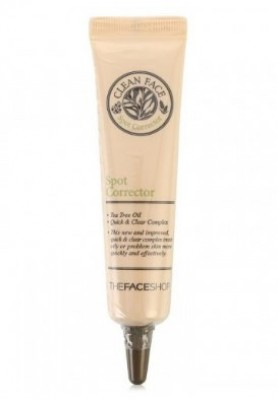 Эссенция заживляющая против воспалений THE FACE SHOP Clean face spot corrector 15 мл: фото