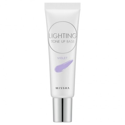 Основа под макияж MISSHA Lighting Tone Up Base SPF30 PA++ Violet: фото