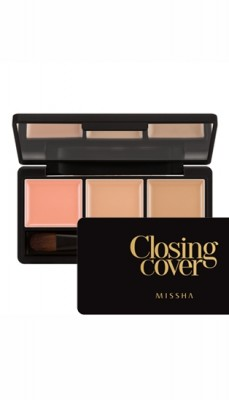 Набор консилеров для лица MISSHA Closing Cover Palette Concealer No.1/Vanilla Mix: фото