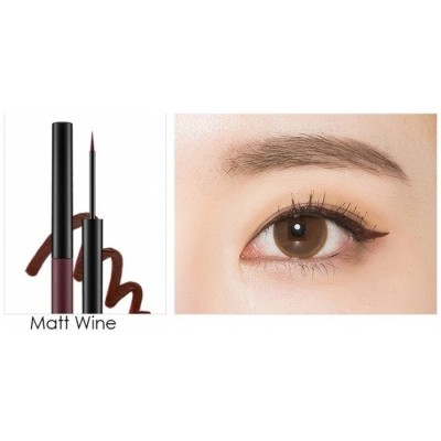 Подводка для глаз MISSHA Real Proof Color Fix Liner Matt Wine: фото