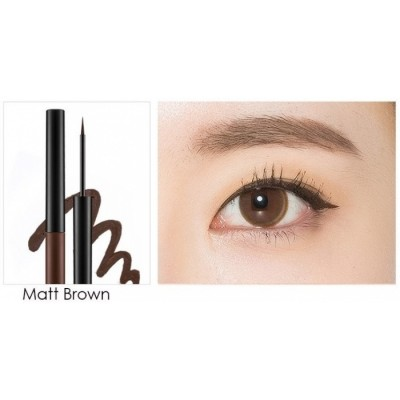Подводка для глаз MISSHA Real Proof Color Fix Liner Matt Brown: фото