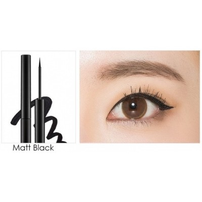 Подводка для глаз MISSHA Real Proof Color Fix Liner Matt Black: фото