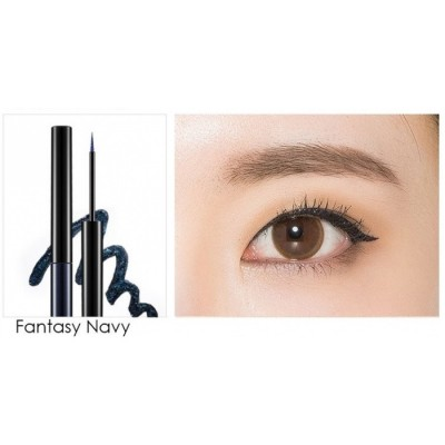 Подводка для глаз MISSHA Real Proof Color Fix Liner Fantasy Navy: фото