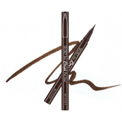 Подводка для глаз MISSHA Secret Line Brush Pen Liner Brown: фото