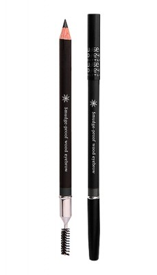 Контурный карандаш для бровей MISSHA Smudge Proof Wood Brow Black: фото