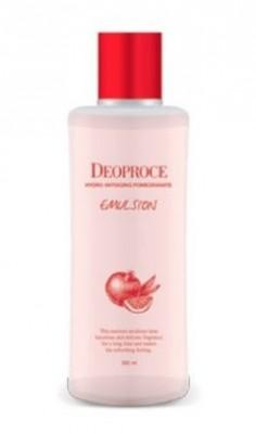 Эмульсия антивозрастная для лица с гранатом DEOPROCE Hydro antiaging pomegranate emulsion 380мл: фото