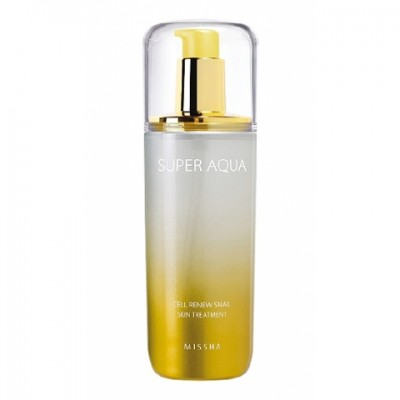 Тоник Регенирирующий MISSHA Super Aqua Cell Renew Snail Skin Treatment: фото