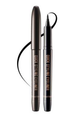 Подводка-лайнер коричневая SEANTREE Quick styling eyeliner Natural brown 1,2 г: фото