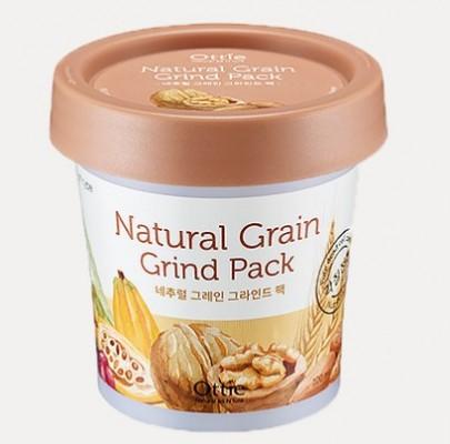 Питательная зерновая маска для сухой кожи OTTIE Natural Grain Grind Pack 100мл: фото