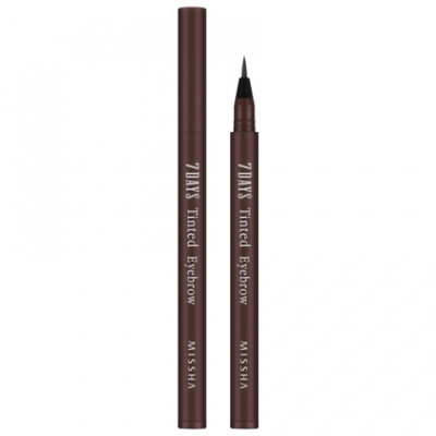 Тинт для бровей MISSHA 7Days Tinted Eyebrow Maroon Brown: фото