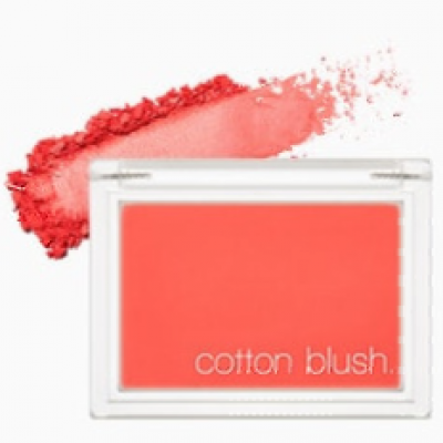 Румяна для лица MISSHA Cotton Blusher Red Flat: фото