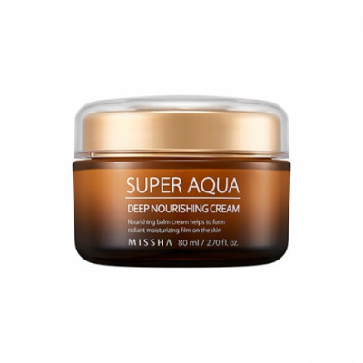 Крем интенсивный питательный MISSHA Super Aqua Ultra Waterful Deep Nourishing Cream 80 мл: фото