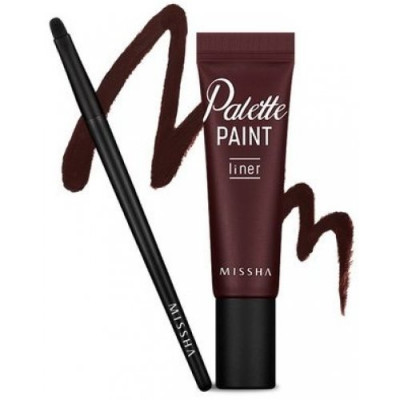 Подводка для глаз MISSHA Palette Paint Liner Deep Wine Overseas only: фото