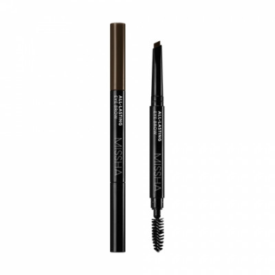 Карандаш для бровей MISSHA All-lasting Eye Brow Dark Brown: фото