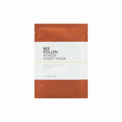 Маска для лица MISSHA Bee Pollen Renew Sheet Mask 25 мл: фото