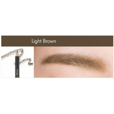Контурный карандаш для бровей MISSHA Smudge Proof Wood Brow Light Brown: фото