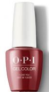 Гель для ногтей OPI GelColor Peru I Love You Just GCP39: фото
