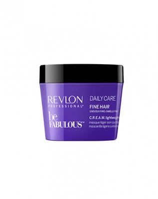 Маска ежедневный уход для тонких волос Revlon Professional, C. R. E. A. M. Be Fabulous 200 мл: фото