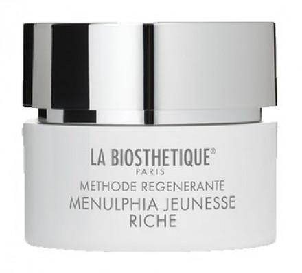 Крем насыщенный регенерирующий для очень сухой кожи La Biosthetique Anti-Age Menulphia Riche 200мл: фото