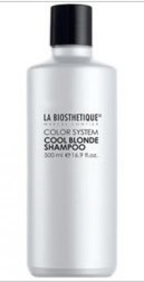 Шампунь корректирующий La Biosthetique Cool Blonde Shampoo 500мл: фото