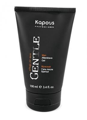 Гель после бритья мужской с охлаждающим эффектом Kapous Gentlemen 100мл: фото