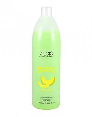 Бальзам для всех типов волос Банан и дыня Kapous Studio 1000мл: фото