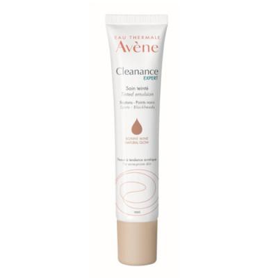 Эмульсия себорегулирующая для проблемной кожи с тонирующим эффектом Avene Cleanance 40 мл: фото