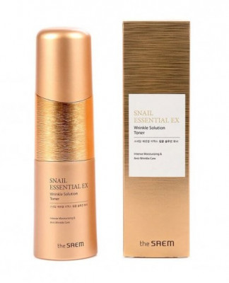 Тонер антивозрастной THE SAEM Snail Essential EX Wrinkle Solution Toner 150мл: фото
