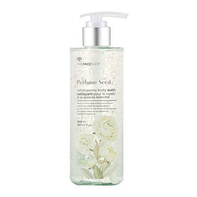 Гель для душа с экстрактом белого пиона The Face Shop Perfume Seed White Peony Body Wash 300 мл: фото