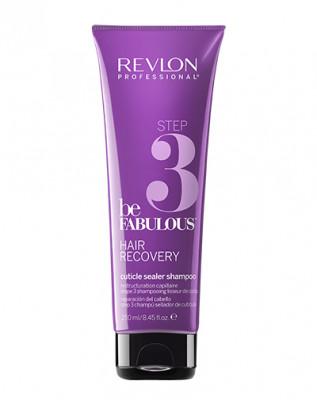 Шампунь, запечатывающий кутикулу Шаг3 Revlon Professional BF RECOVERY STEP 3 250мл: фото