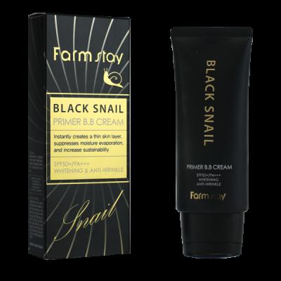 ББ крем с муцином черной улитки SPF50+/PA+++ FarmStay 50г: фото
