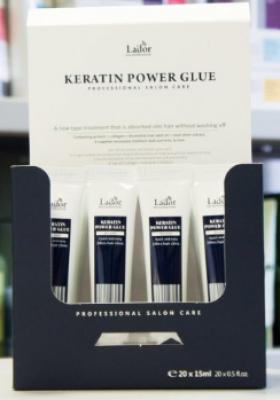 Сыворотка для секущихся кончиков набор La'dor KERATIN POWER GLUE 15г*4: фото