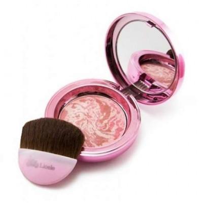 Румяна мраморные запеченные Lioele Marbling Blusher Lovely Pink 15г: фото