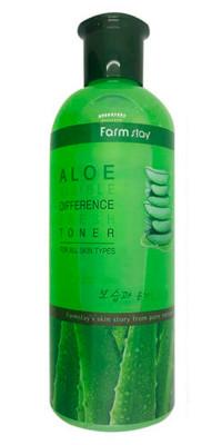 Тонер освежающий с экстрактом алоэ вера FarmStay Aloe Visible Difference Fresh Toner: фото