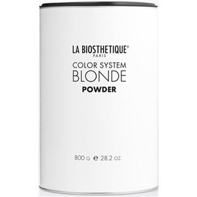 Обесцвечивающая пудра для максимального и бережного осветления La Biosthetique Blonde Powder 800г: фото