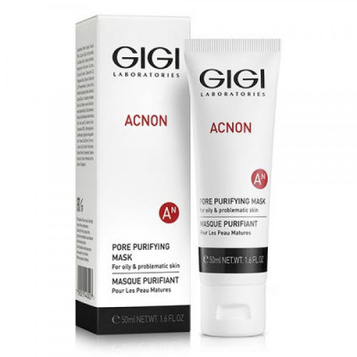 Маска для глубокого очищения пор GiGi Acnon Pore purifying mask 50мл: фото