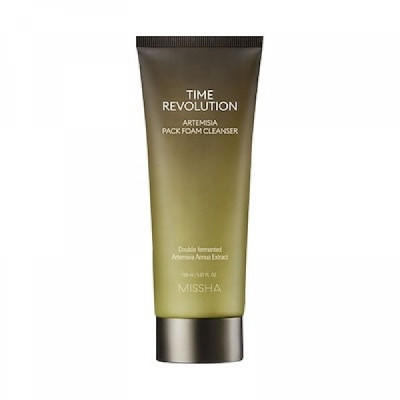 Пенка-маска очищающая MISSHA Time Revolution Artemisia Pack Foam Cleanser 150 мл: фото