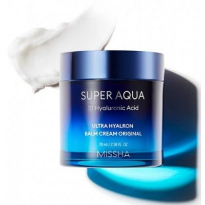 Крем-бальзам увлажняющий MISSHA Super Aqua Ultra Hyalron Balm Cream Original 70 мл: фото
